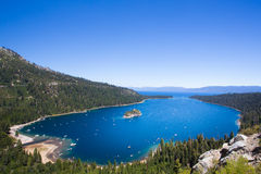 Lake Tahoe California Fotografia Stock