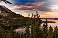 Lake Tahoe, California, Emerald Bay Stock Photography