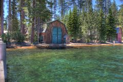 Lake Tahoe California HDR Royalty Free Stock Images