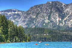 Lake Tahoe California HDR Royalty Free Stock Photography