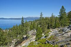 Lake Tahoe California Royalty Free Stock Photos