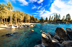 Lake Tahoe, California, USA. Beautiful Lake Tahoe, California, USA Stock Photos