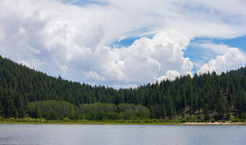Lake Tahoe - Cloudscape with Copy Space Stock Photography