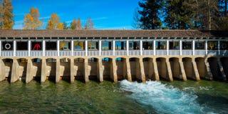 Lake Tahoe Dam Royalty Free Stock Photos