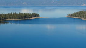 Lake Tahoe, Draufsicht stock video