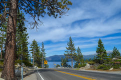 Lake Tahoe. Emerald bay in lake Tahoe, CA Royalty Free Stock Photos