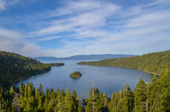 Lake Tahoe. Emerald bay in lake Tahoe, CA Stock Images