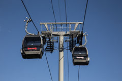 Lake tahoe heavenly gondola Stock Images
