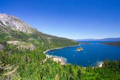 Lake Tahoe Kalifornien Stockbild