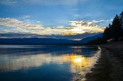 Lake Tahoe, la Californie Photographie stock