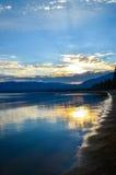 Lake Tahoe, la Californie Photo libre de droits