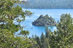 Lake Tahoe, la Californie Photo libre de droits