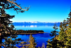 Lake Tahoe, la Californie Image libre de droits