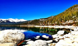 Lake Tahoe, la Californie Images libres de droits