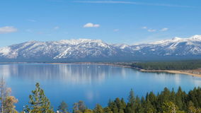 Lake Tahoe, landscape stock video