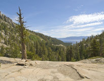Lake Tahoe Mountain Overlook Royalty Free Stock Photos