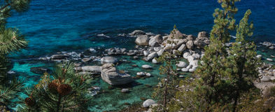 Lake Tahoe in October Stock Photo