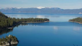 Lake Tahoe, overview stock video