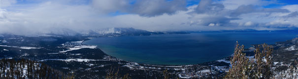 Lake Tahoe Pan Royalty Free Stock Photos