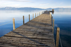 Lake tahoe perspective Royalty Free Stock Image