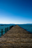 Lake Tahoe Pier Stock Images