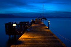 Lake Tahoe Pier Royalty Free Stock Image