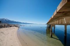 Lake Tahoe Pier Royalty Free Stock Photo