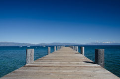Lake tahoe. This place is bridge at Lake Tahoe for relax, California royalty free stock photo