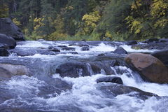 Lake Tahoe Rapids. A lovely shot of the rapids in Lake Tahoe CA Stock Photos