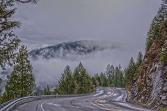 Lake Tahoe road Stock Images