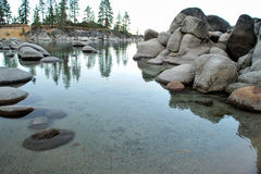 Lake Tahoe, Sand Harbor Stock Images
