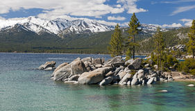 Lake Tahoe Sand Harbor Beach Royalty Free Stock Photography