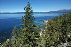 Lake Tahoe Scenery Royalty Free Stock Image
