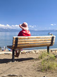 Lake Tahoe scenic beauty. Stock Photos