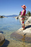 Lake Tahoe scenic beauty. Royalty Free Stock Images