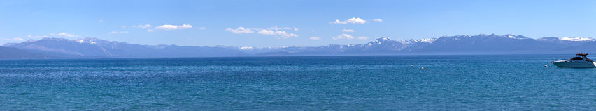 Lake Tahoe scenic beauty panorama. Stock Photography