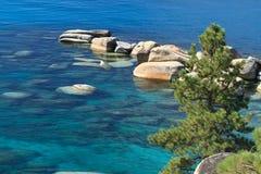 Lake Tahoe shore Stock Photo