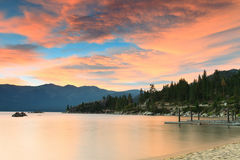 Lake Tahoe shore Royalty Free Stock Photos