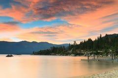 Lake Tahoe shore Royalty Free Stock Photos