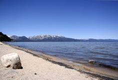 Lake Tahoe sul Fotografia de Stock Royalty Free