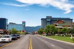 Lake Tahoe sul fotos de stock royalty free