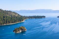 Lake tahoe at summer Royalty Free Stock Photography
