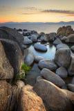 Lake Tahoe at Sunset Stock Images