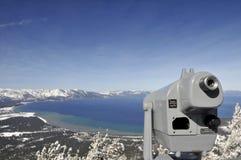 Lake Tahoe unten betrachten Stockbild
