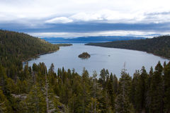 Lake Tahoe Vacation Royalty Free Stock Photography