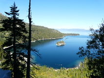 Lake tahoe view Royalty Free Stock Photo