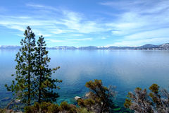 Lake Tahoe Vista Stock Photo