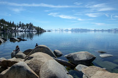 Lake Tahoe Vista Stock Image