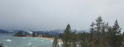 Lake tahoe winter Royalty Free Stock Photos