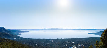 Lake Tahoe in Winter Stock Photos